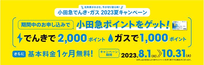 でんき・ガス夏の切り替えキャンペーン最大8,000ポイントゲット